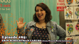 Fresh is the Word Podcast - Episode 85 - Erin Schechtman (Super Group Hugs) - From Wizard World Comic Con Columbus