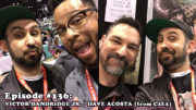Fresh is the Word Podcast - Episode 136 - Victor Dandridge Jr. - Dave Acosta - Recorded at C2E2 2019