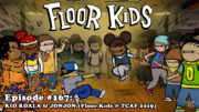 "Fresh is the Word Podcast - Episode #167: Kid Koala & JonJon - ""Floor Kids"" Video Game (Recorded at Toronto Comic Arts Festival - TCAF 2019)"