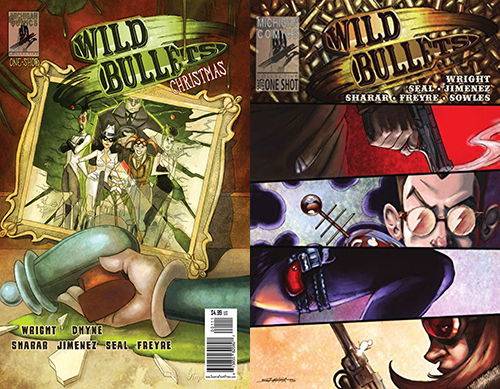 Fresh is the Word Mini-Review: Wild Bullets (One-Shot) & Wild Bullets: Christmas (One-Shot) by Greg Wright (Michigan Comics Collective)