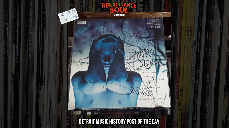 "Renaissance Soul Detroit Music History Post of the Day: Eminem ""Slim Shady LP"" + In-Store at Record Time in Roseville, MI"